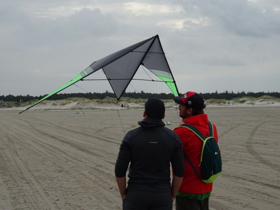 TFT SPO 2016 - neue Kites zur Begutachtung