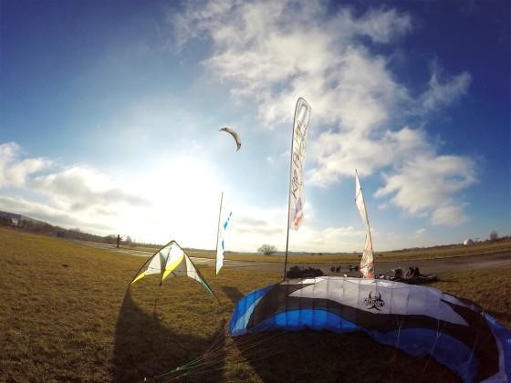 Kite Fly High in Neubiberg beim Landkiten - was für ein traumhaftes Wetter!
