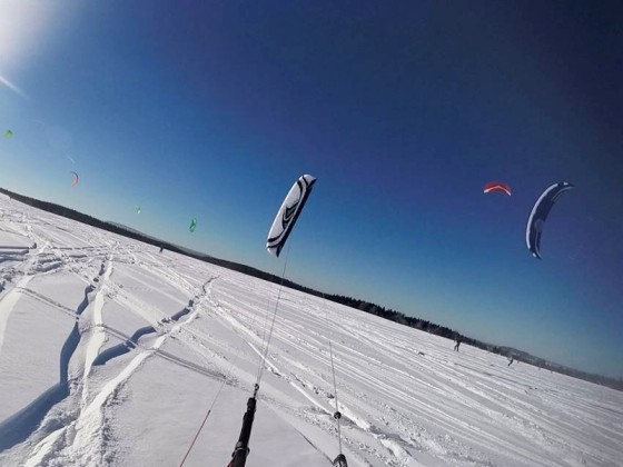 Kite Fly High On Tour beim SNOWTIME X FESTIVAL in Satzung (Erzgebirge)