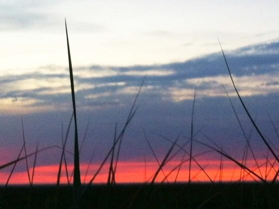 Fanø Bad - Sonnenuntergangsstimmungsfotographieversuch (typisch deutsches Wort ;) )