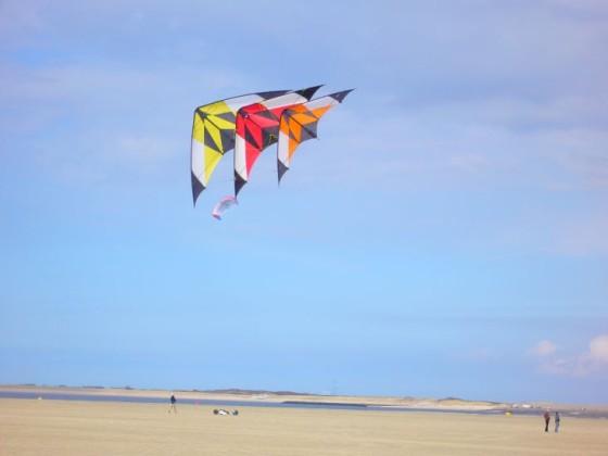 S kite Dreier - Kette in Renesse