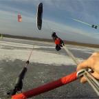 Eisbuggy fahren auf dem Rangsdorfer See
