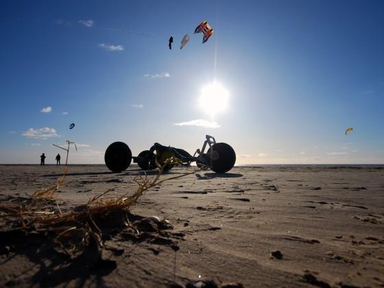 X-Falcon Kite-Buggy (Eigenbau)